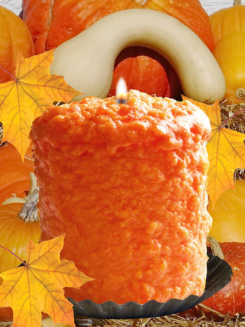 Fall Harvest Warm Glow Hearth Candle