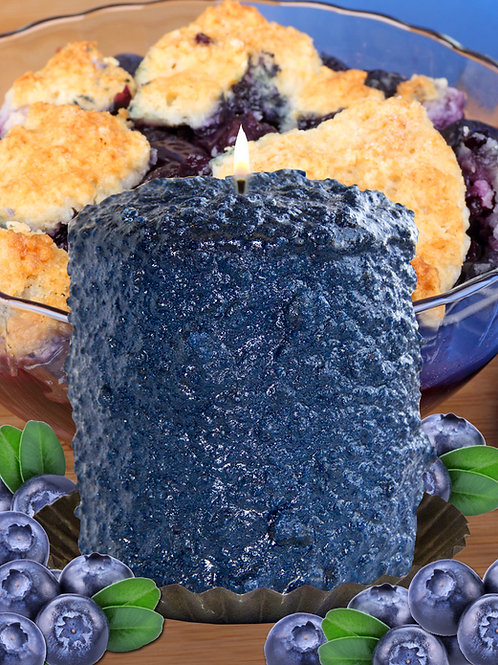 Blueberry Cobbler Warm Glow Hearth Candle