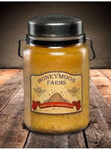 Honey & Cornbread Large Candle