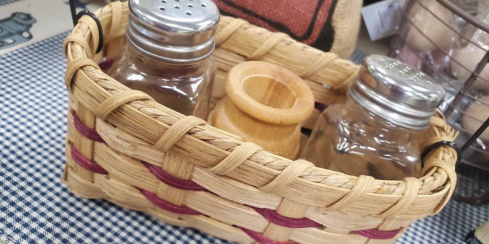 Salt & Pepper Basket Weaving Class