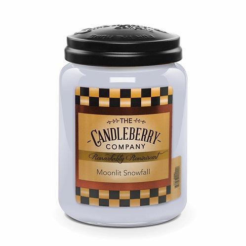 Moonlit Snowfall Jar Candle 26oz