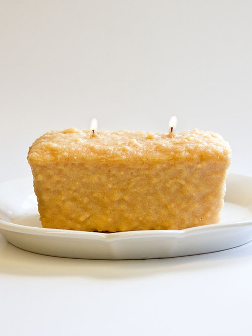 Banana Nut Bread 2 Wick Candle
