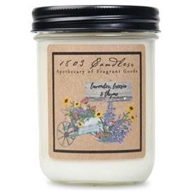 Lavender, Freesia & Thyme 1803 Jar Candle