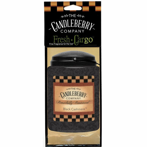 Black Cashmere Car Freshener