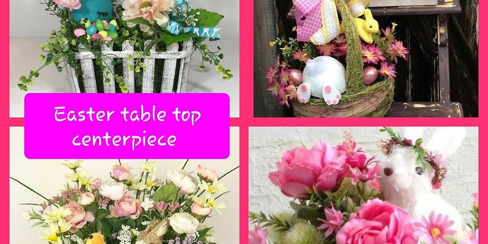 Create A Craft Class Easter Table Top Centerpiece