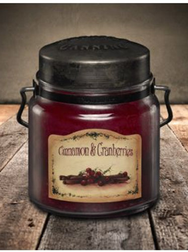 Cinnamon & Cranberries Small Candle