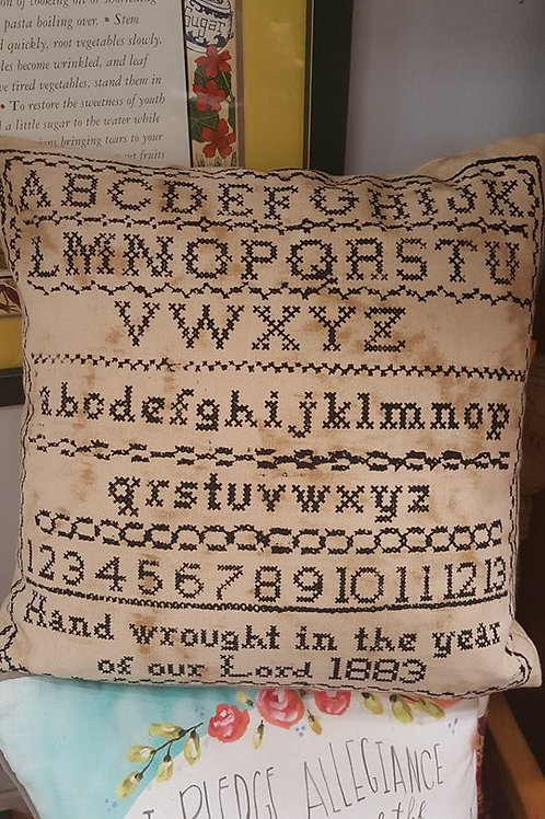 Primitive Stitch Pillow