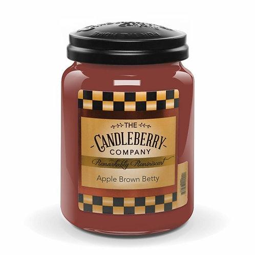 Apple Brown Betty Jar Candle 26oz