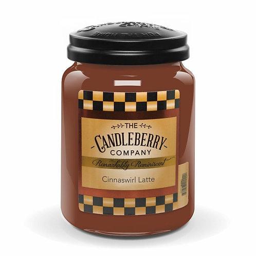 Cinnaswirl Latte Jar Candle 26oz