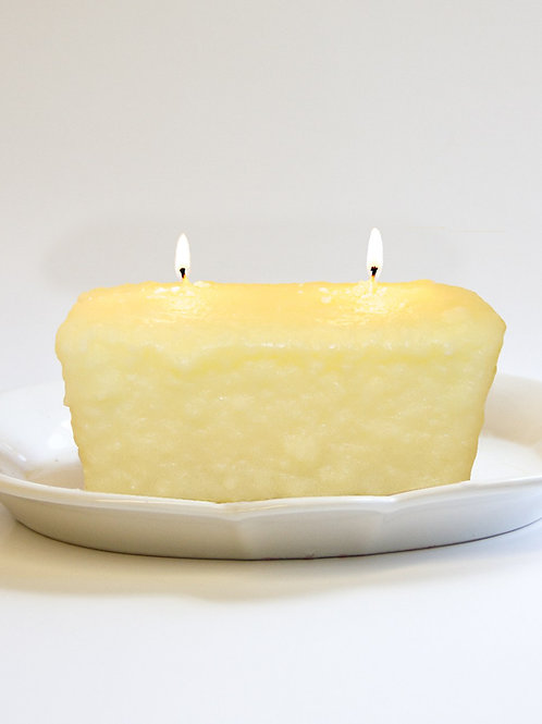 White Cherry Cheesecake 2 Wick Candle