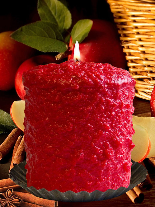Apple Cinnamon Warm Glow Hearth Candle