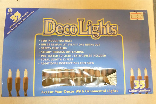 35 Count Deco Lights