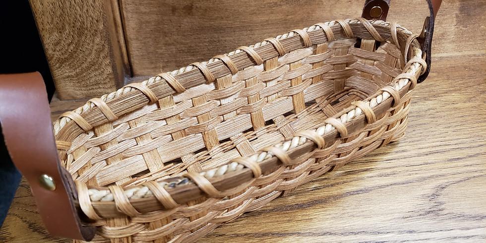 Cracker Basket - Beginner Basket Weaving