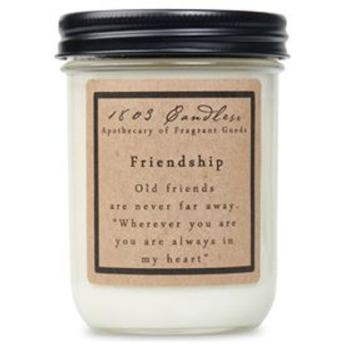 Friendship 1803 Jar Candle