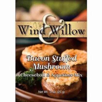 Bacon Stuffed Mushroom Savory Cheeseball