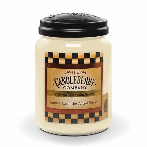 Lemon Lavender Angel Food Jar Candle 26oz