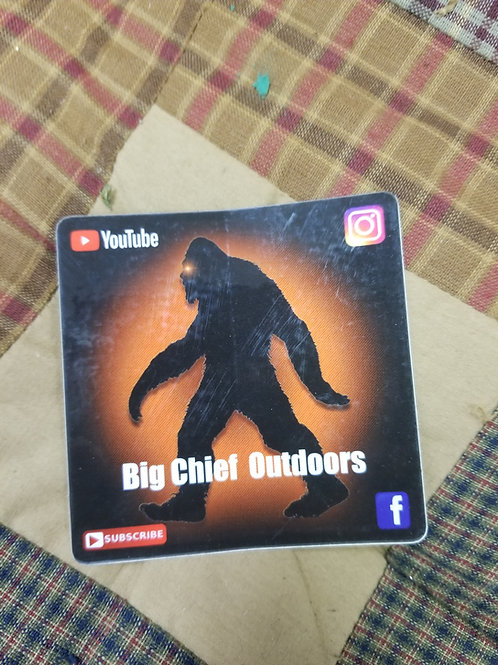 Big Chief Outdoors Sticker