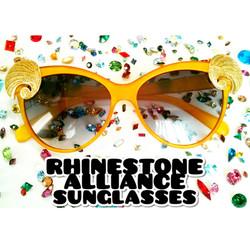 Rhinestone Alliance Sunglasses