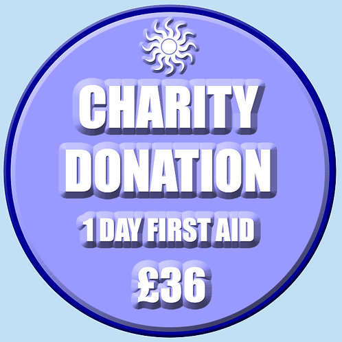 Charity Donation - 1 Day First Aid Course