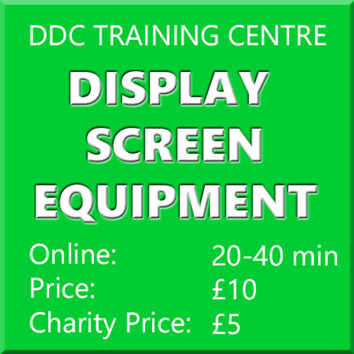 Intro to Display Screen Equipment Regulations