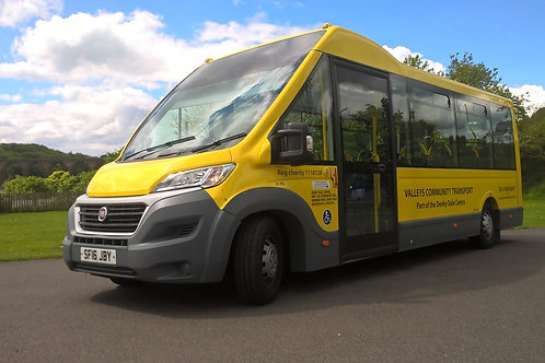 Minibus Hire (not self drive) Full Day Booking