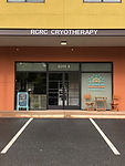 View of Rivanna Cryotherapy Recovery Center Entrance