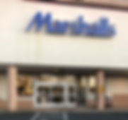 View of the Front of Marshalls- Charlottesville Location