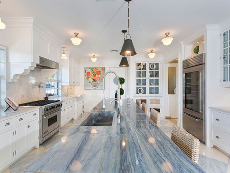 Why are Blue Countertops exotics?