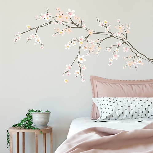 CUTE CHERRY BLOSSOM DECAL