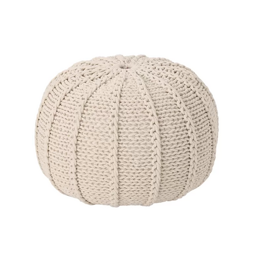 Tulah Knitted Pouf