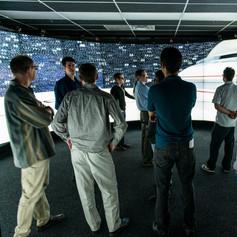 Enterprise demo at GLIF 2012