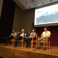Panel discussion after screening at the Nobel Peace Prize Forum 2017 at Augsburg Univeristy, Minneapolis, MN.