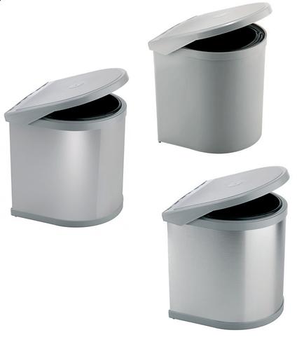 Vaste bins. Capacity Lt. 10