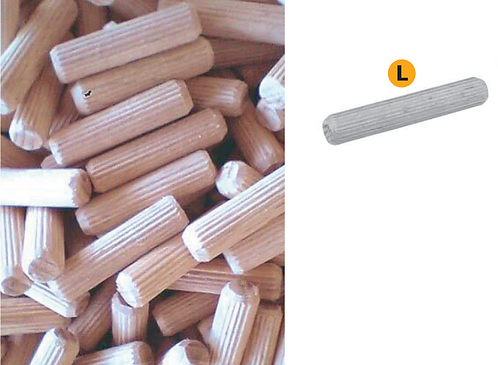 Wooden dowels Available other measures (L)