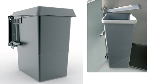 Vaste bins. Capacity Lt. 12 or 18