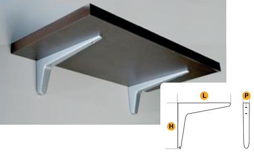 Interior design bracket support