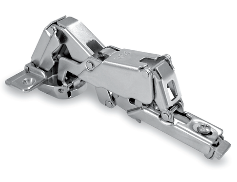 Clip-on hinges 165° with regolations
