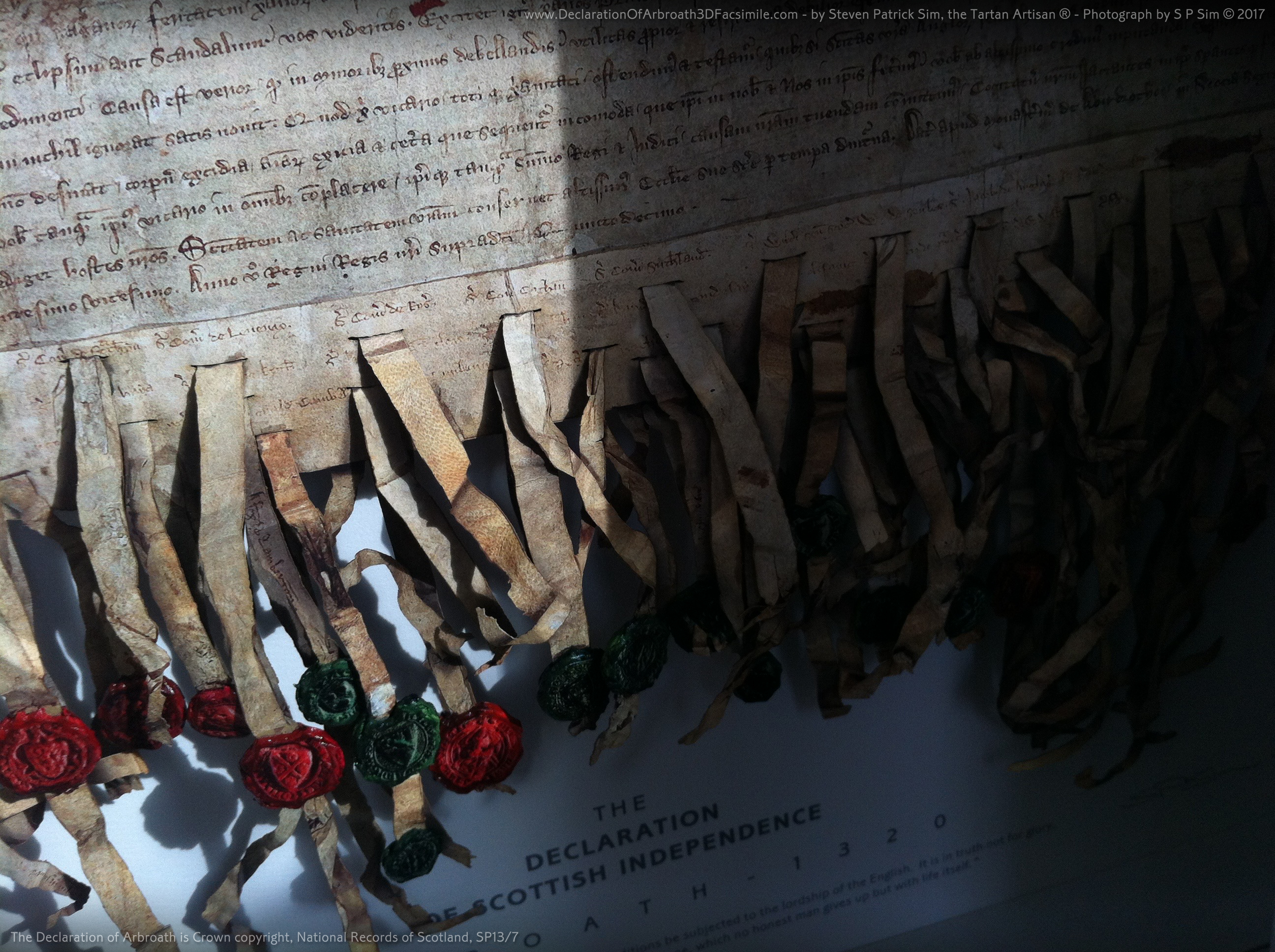 The Declaration of Arbroath Replica