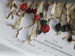Declaration of Arbroath facsimile