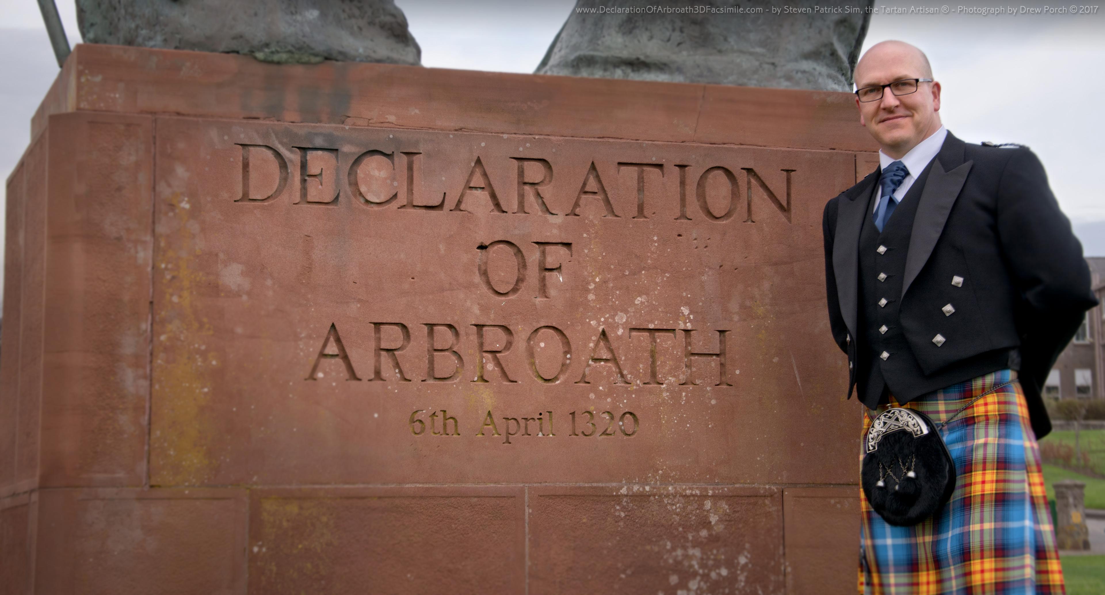 Declaration Of Arbroath 3D Replica