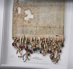 Declaration Of Arbroath 3D Facsimile