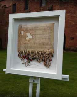 Declaration of Arbroath replica