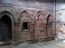 The Arbroath Abbey Sacristy