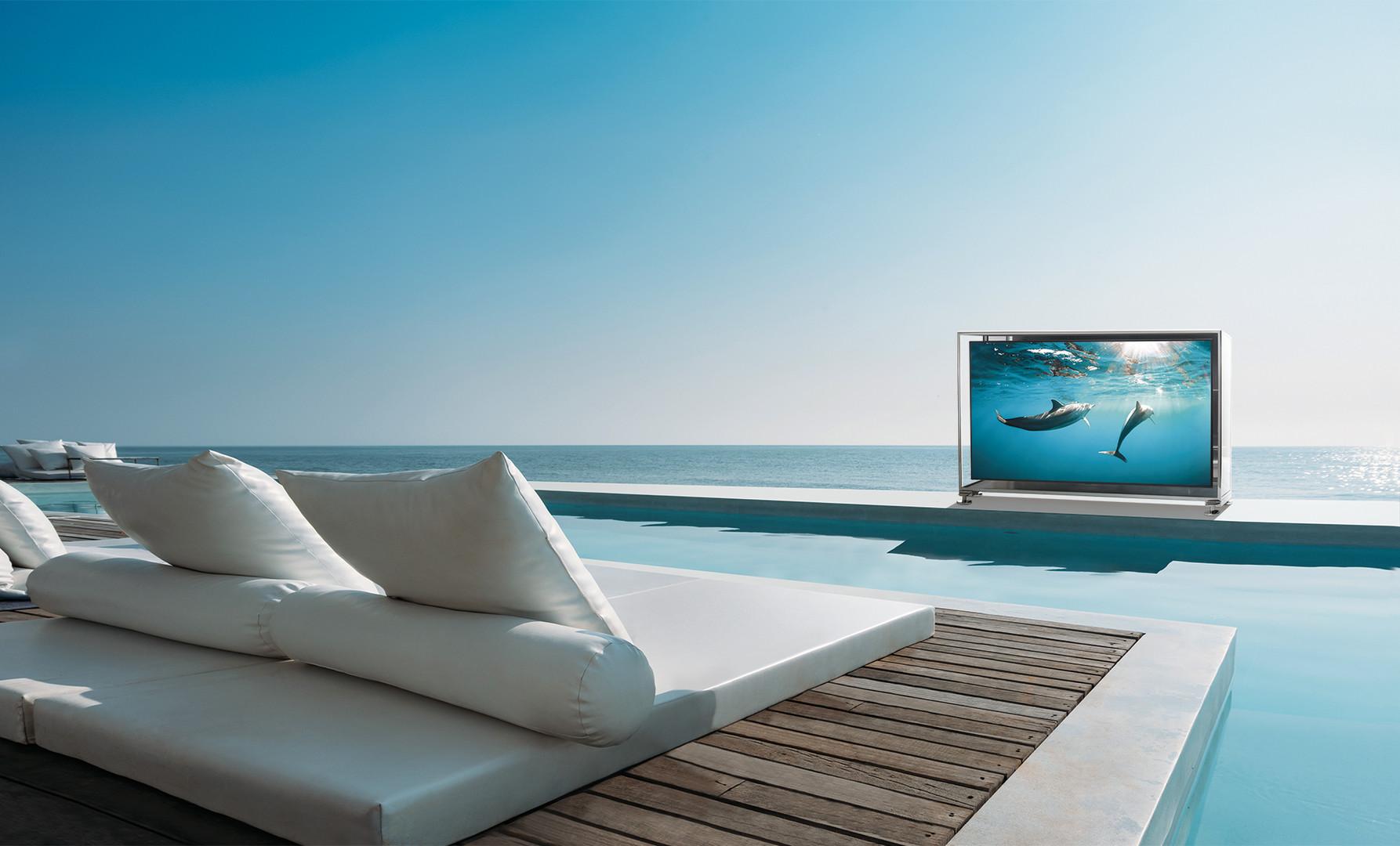 Protezione tv esterno