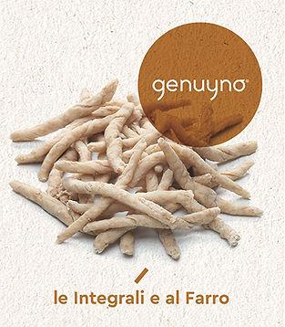 Genuyno, le integrali e al farro