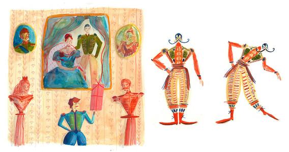 Swan Lake Book Illustrations