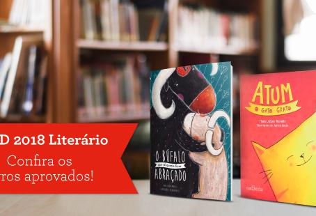 Livros da Carochinha aprovados no PNLD 2018 Literário