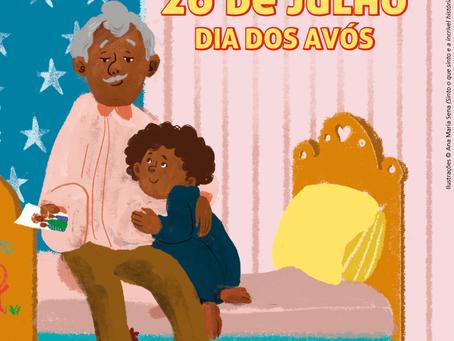 Hoje é dia dos avós!