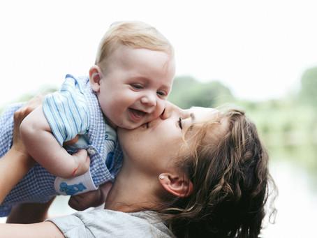 Você já deu um beijo no seu filho hoje?