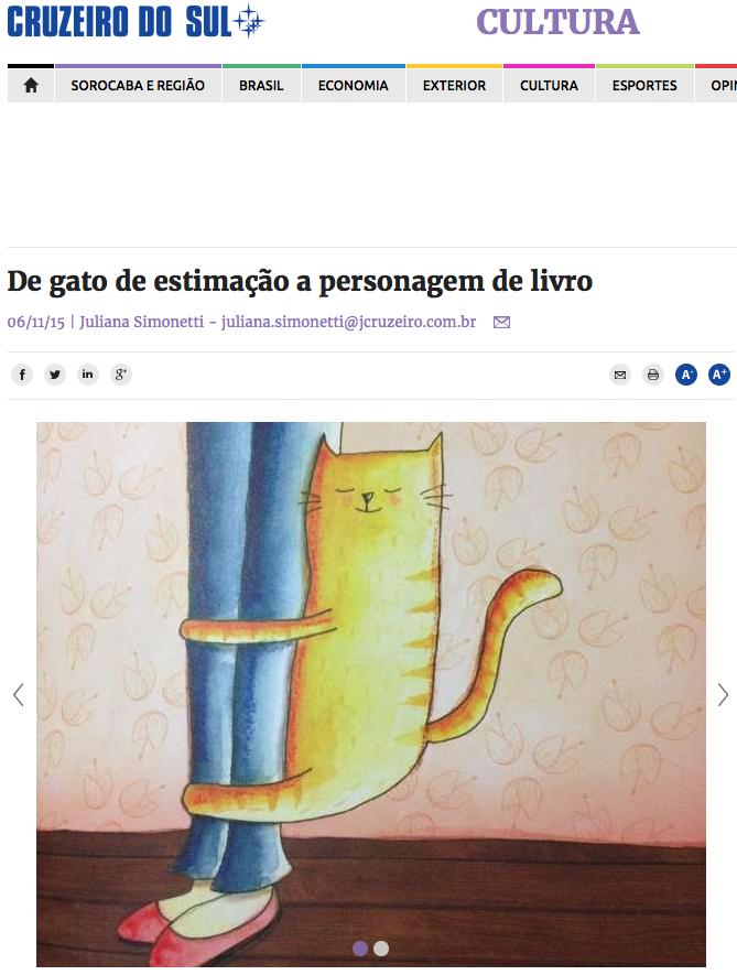 Atum no jornal Cruzeiro do Sul